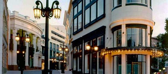 2 Rodeo Drive, Beverly Hills, California.