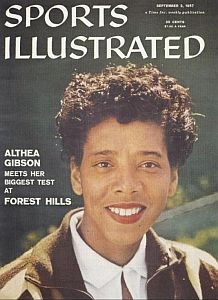 Althea Gibson Meets her Biggest Test at Forest Hills