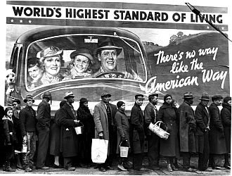 'At the Time of the Louisville Flood' by Margaret Bourke-White (1937)