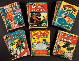 Billy Wright's comics collection sold for $3.5 million in 2012.