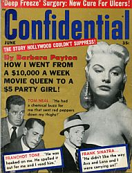 Confidential Magazine, June 1963.