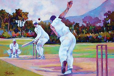 Cricket in the Park by Glenford John.