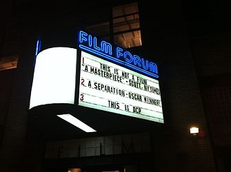 Film Forum, New York.