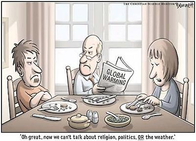 Global Warming by Clay Bennett