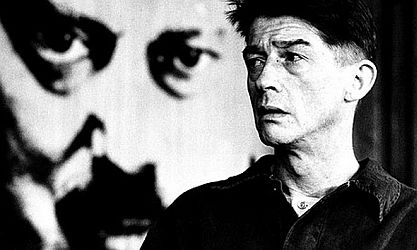 John Hurt playing Winston Smith in film 1984.