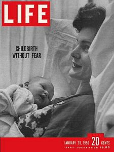 Life magazine cover 'Childbirth Without Fear'