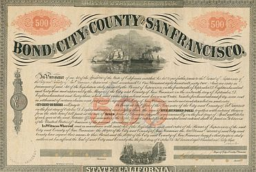 Municipal Bond for City and County of San Francisco