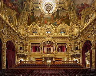 Opera de Monte-Carlo, Monaco. Photo by David Leventi