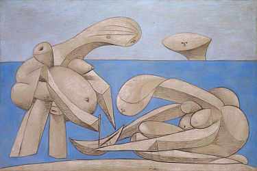 Pablo Picasso. 'On the Beach'.