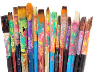 Paint Brushes.