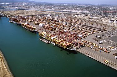 Pier A at Port of Long Beach