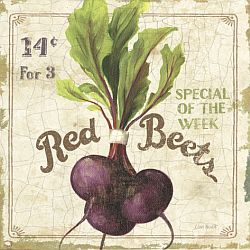 Red Beets Art Print