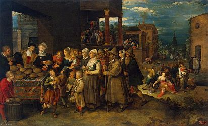 'Seven Affairs of Charity' by Frans Francken II