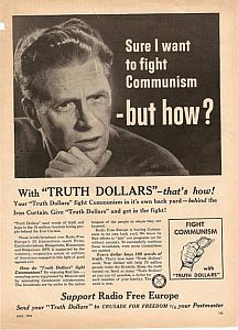Sure, I want to fight communism - but how?