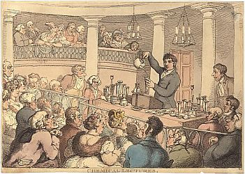 Thomas Rowlandson, Chemical Lectures.