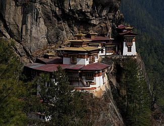 Tigers Nest Monastery, Kingdom of Bhutan