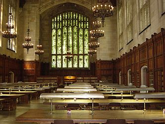 University of Michigan Law Library Interior